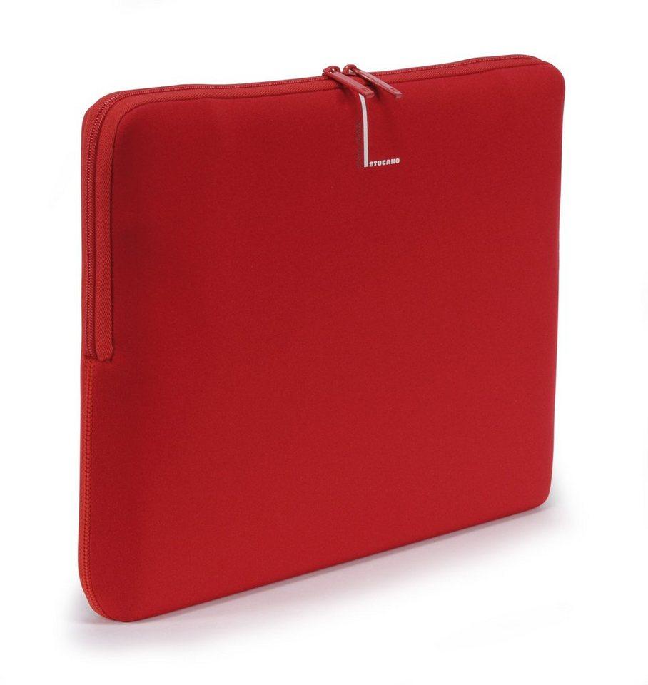 Tucano Neoprenhülle für Notebooks 15/16 Zoll widescreen »Second Skin Colore« in Rot