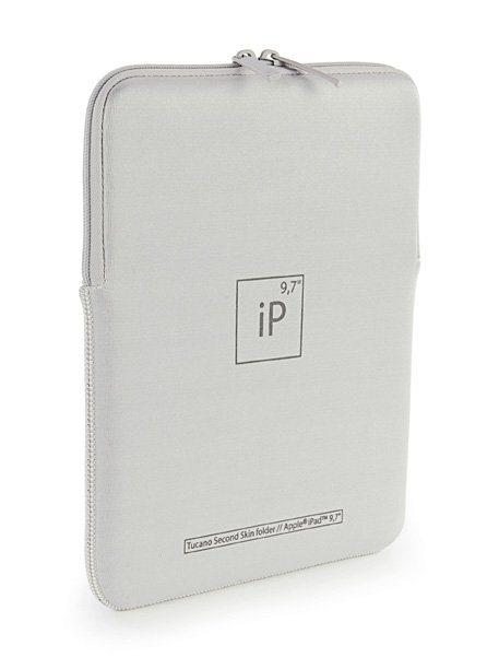 Tucano Neoprenhülle für iPad, iPad Air, iPad Pro 9,7 »Second Skin Elements« in Weiss