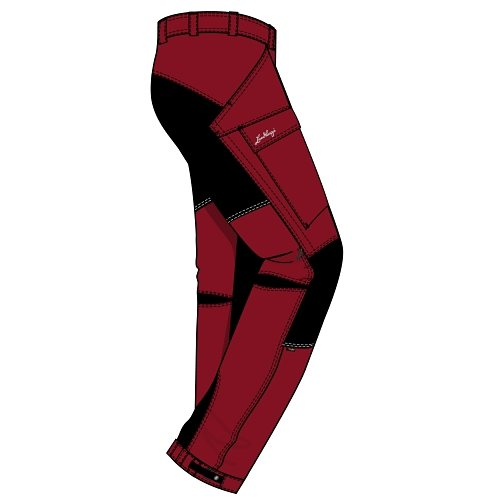 Lundhags Hosen »Authentic Pant« in red