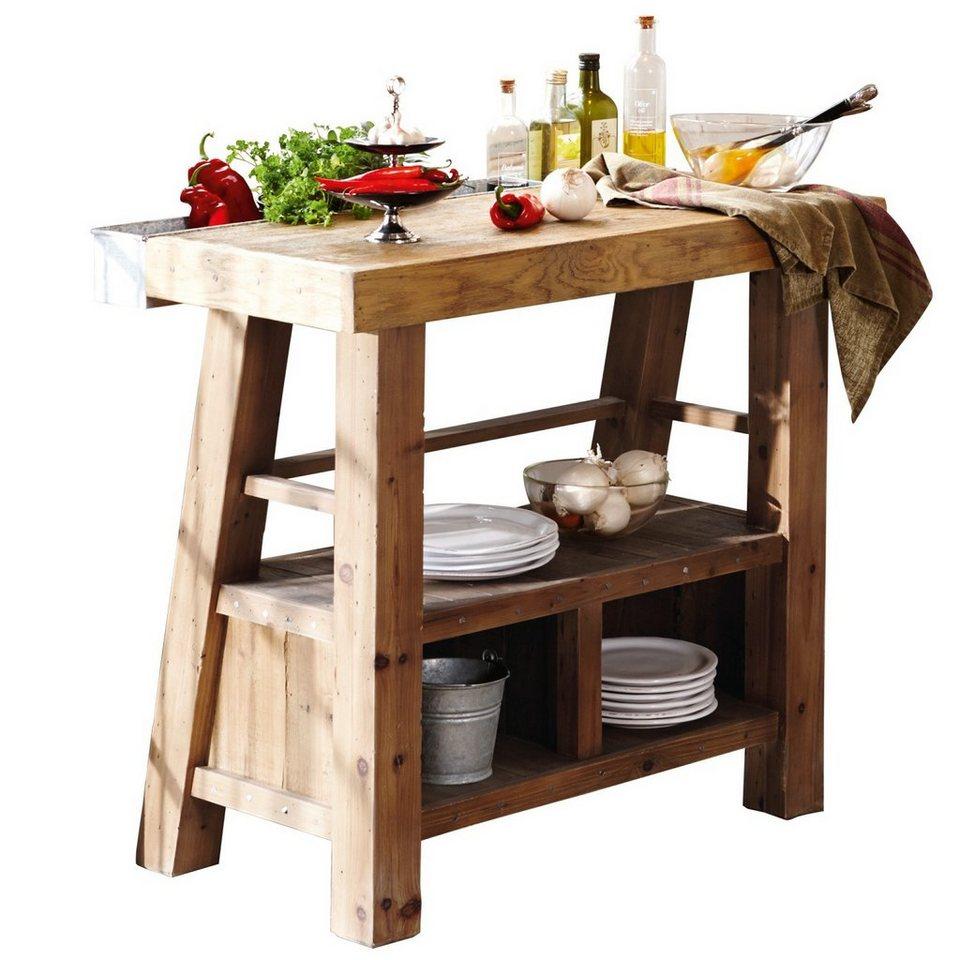 Loberon Tisch »Sackville« in natur