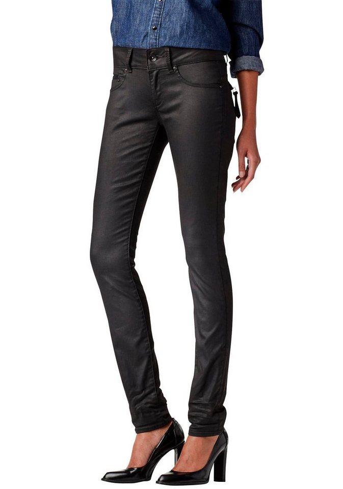 G-Star Skinny-fit-Jeans »Midge Cody mid skinny« in black-denim