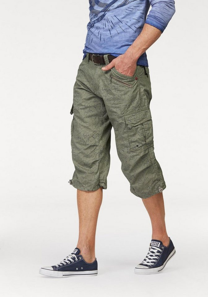 TIMEZONE Bermudas »Miles« in army-green