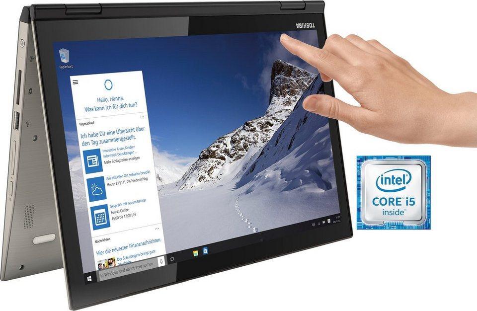 Toshiba Satellite P20W-C-10K Notebook, Intel® Core™ i5, 31,7 cm (12,5 Zoll), 256 GB Speicher in silberfarben