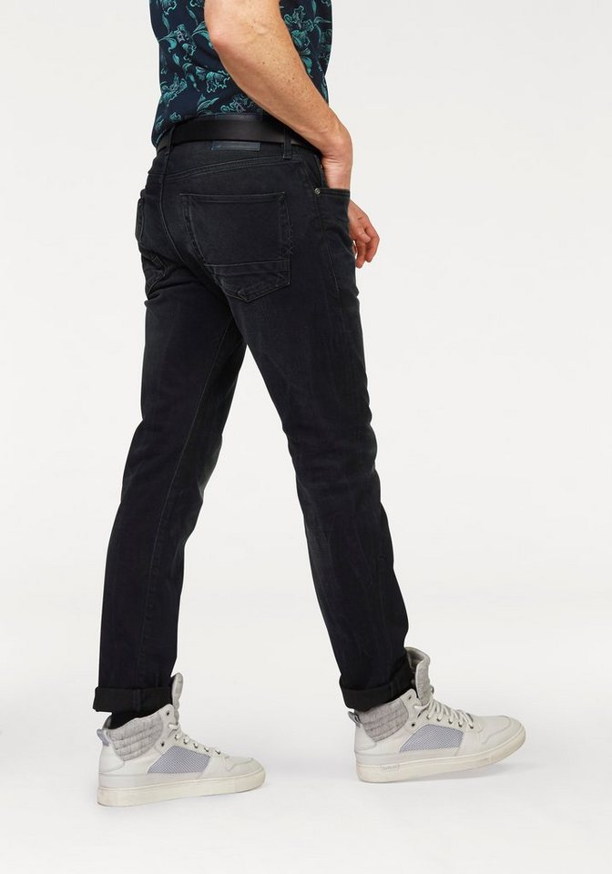 Scotch & Soda Regular-fit-Jeans »Ralston« in blue-used