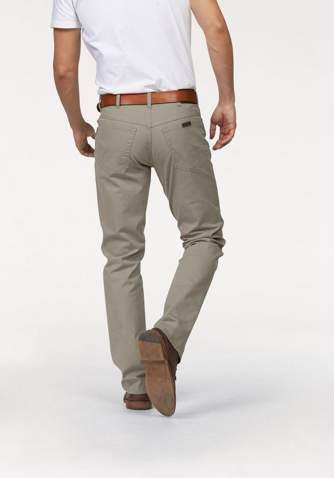 Wrangler Stretch-Jeans »Durable« Regular Fit in natur-strukturiert