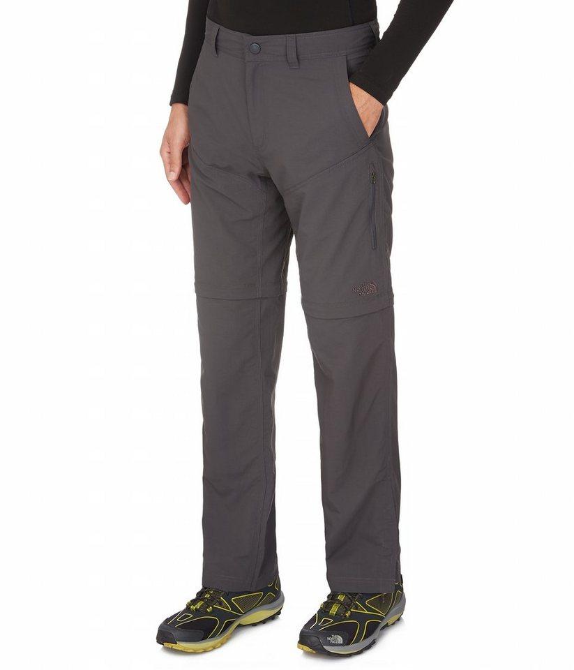 The North Face Outdoorhose »Horizon Convertible Pant Men Long« in grau