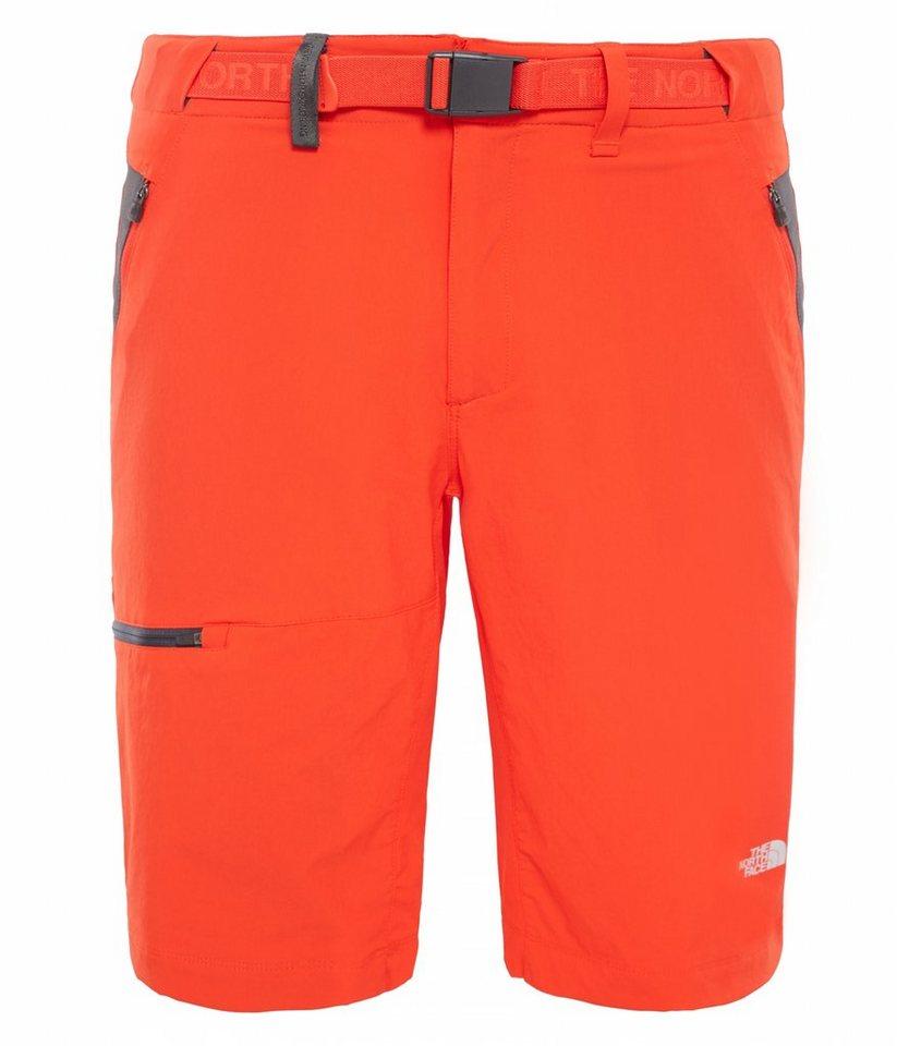 The North Face Hose »Speedlight Short Men Regular« in rot