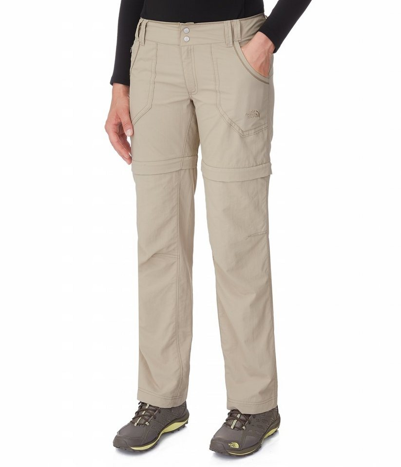 The North Face Outdoorhose »Horizon Convertible Plus Women Regular« in beige
