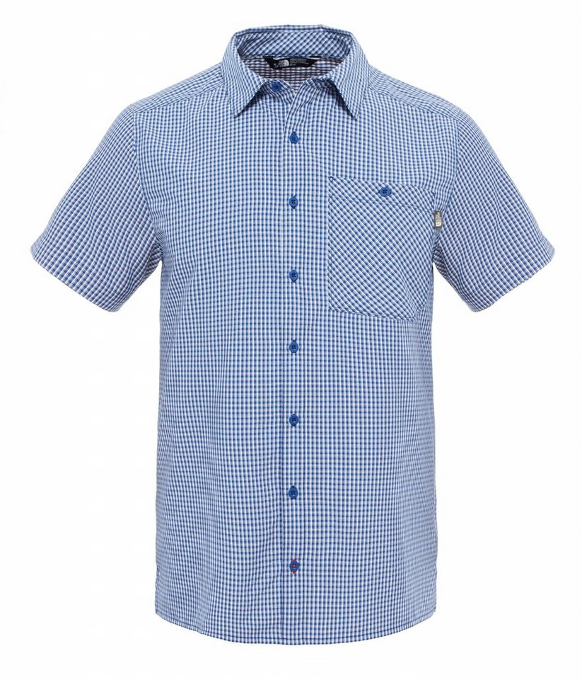The North Face Hemd »Hypress S/S Shirt Men« in blau
