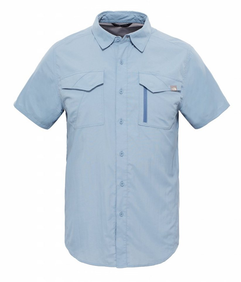The North Face Hemd »Sequoia S/S Shirt Men« in blau