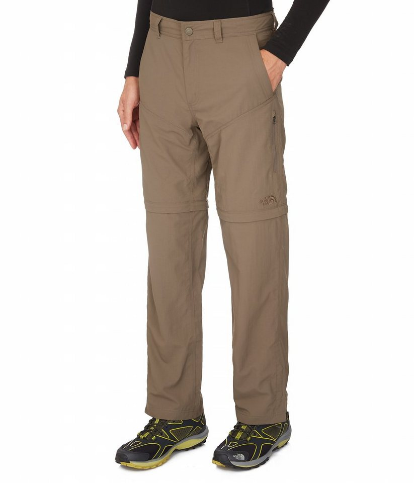 The North Face Outdoorhose »Horizon Convertible Pant Men Regular« in braun
