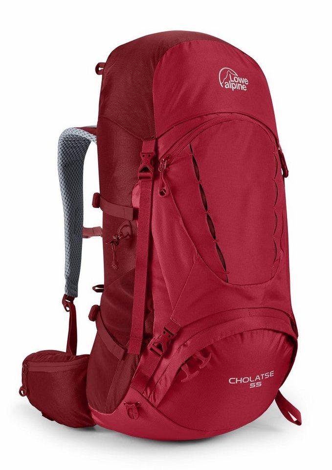 Lowe Alpine Wanderrucksack »Cholatse 55 Backpack Men« in rot