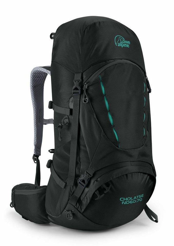 Lowe Alpine Sport- und Freizeittasche »Cholatse ND 60:70 Backpack Women« in schwarz