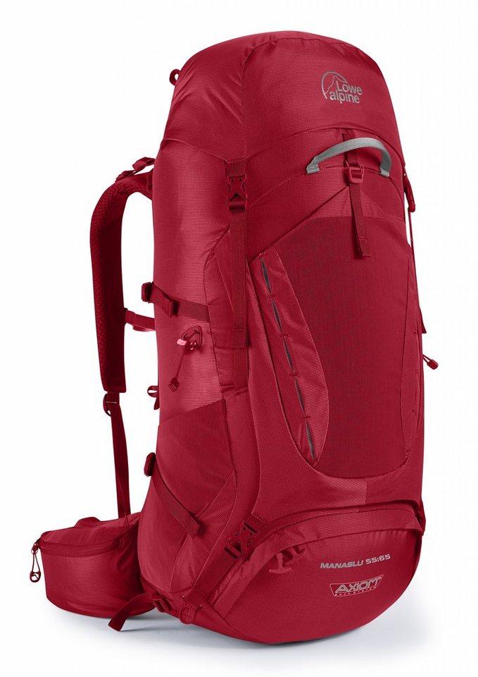 Lowe Alpine Sport- und Freizeittasche »Manaslu 55:65 Backpack Men« in rot