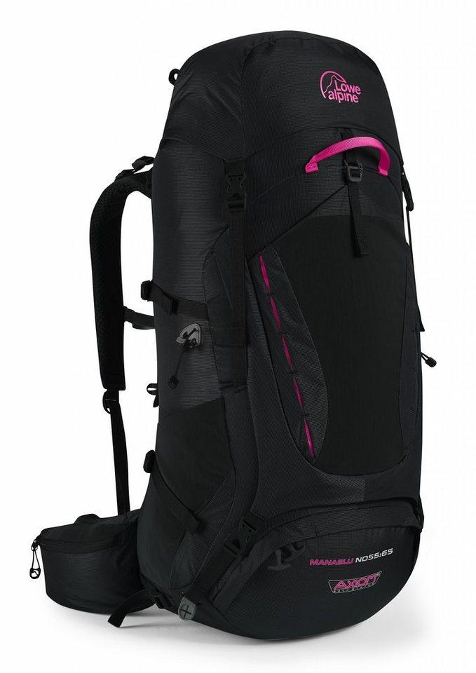 Lowe Alpine Sport- und Freizeittasche »Manaslu ND 55:65 Backpack Women« in schwarz