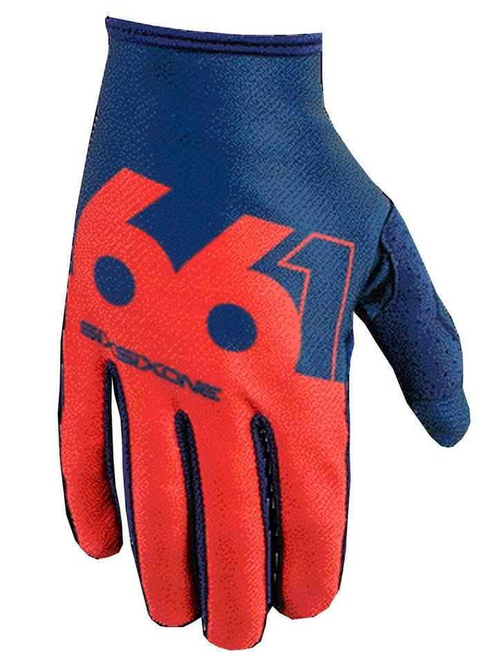 SixSixOne Fahrrad Handschuhe »Comp Slice Handschuh« in blau