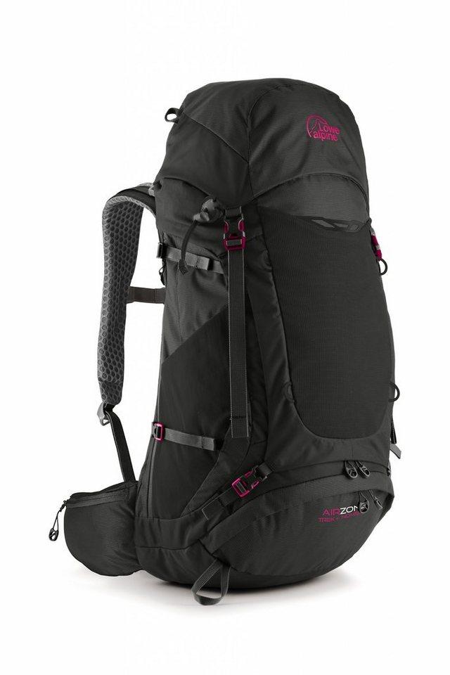 Lowe Alpine Sport- und Freizeittasche »AirZone Trek+ ND 45:55 Backpack Women« in schwarz