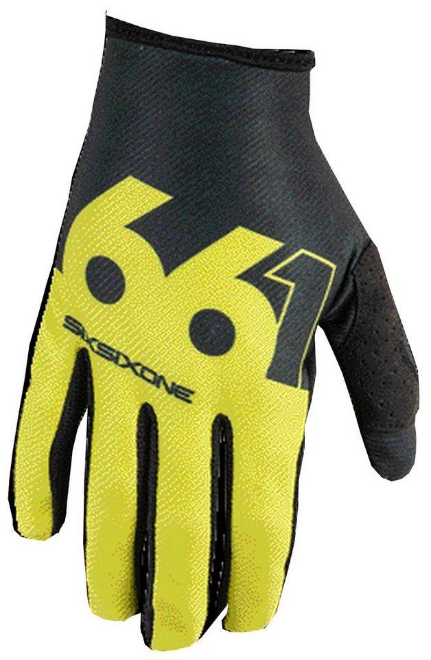 SixSixOne Fahrrad Handschuhe »Comp Slice Handschuh« in grün