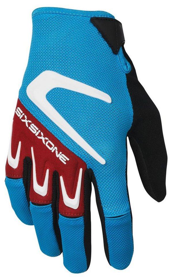 SixSixOne Fahrrad Handschuhe »Rage Handschuh« in blau