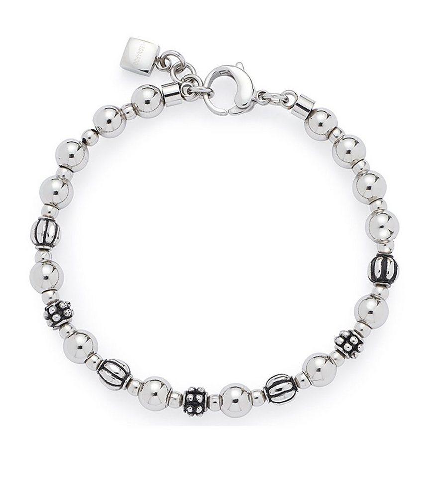 Jewels by Leonardo Armschmuck: Armband, »diverso, 015720« in silberfarben/geschwärzt
