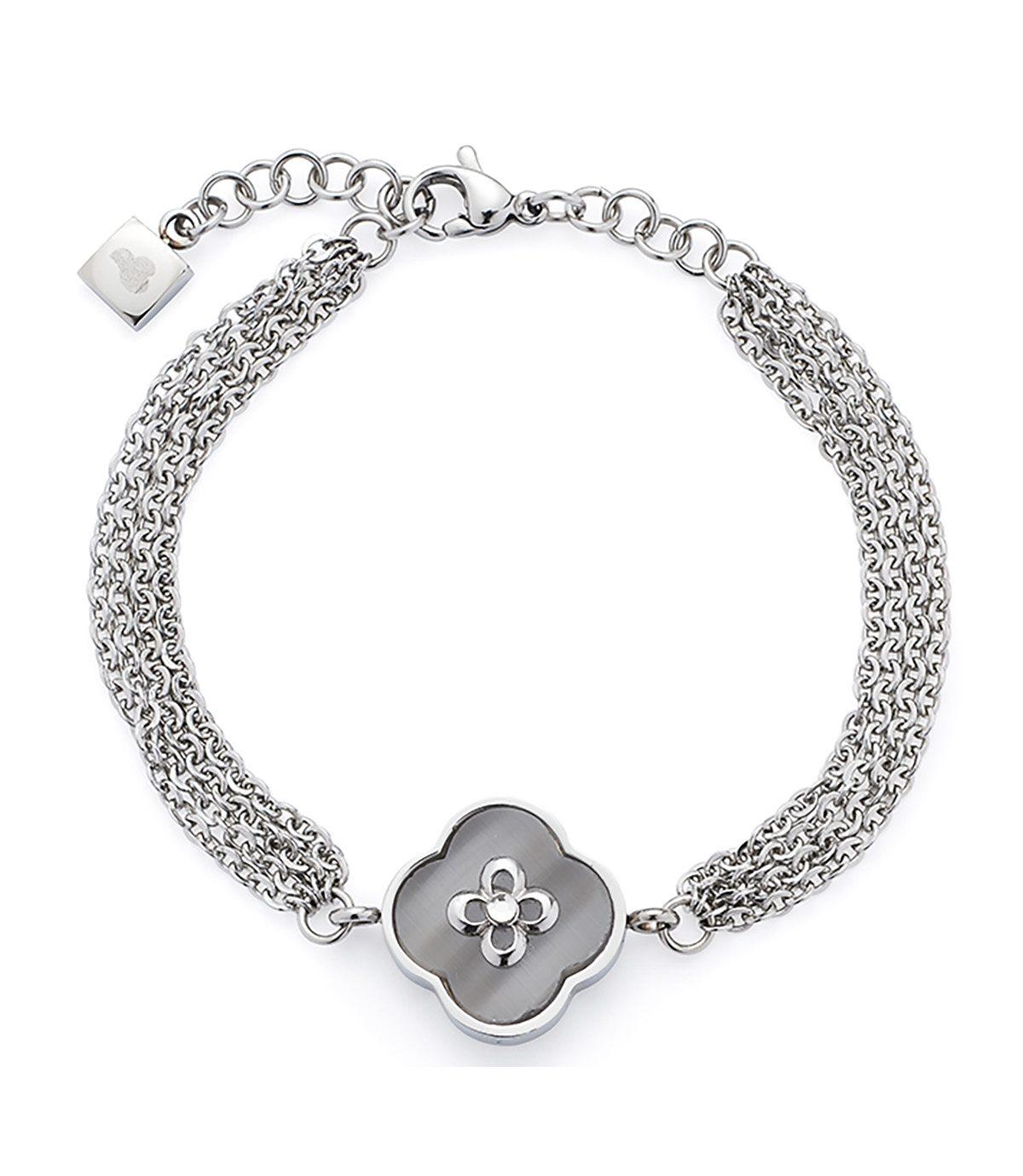 Jewels by Leonardo Armschmuck: Armband mit Glassteinen, »fortunato, 015717«