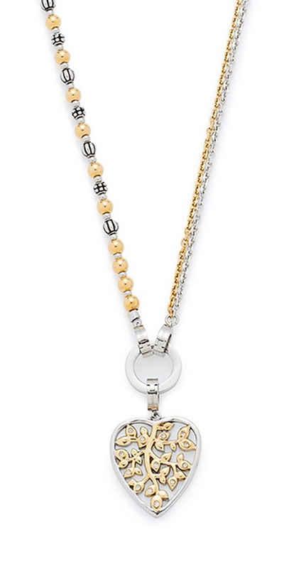 Jewels by Leonardo Schmuckset: Halskette mit Glassteinen (Set, 4 tlg.), »darlin´s ornato, 015754« Sale Angebote