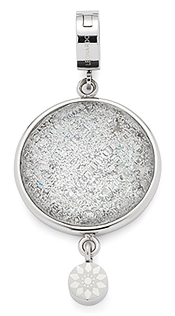 Jewels by Leonardo Charm-Einhänger: Anhänger mit Glasstein , »darlin's neve, 015739« in silberfarben