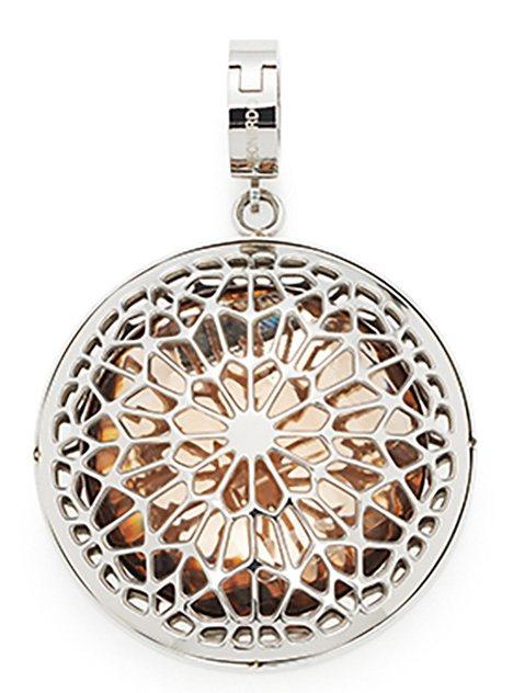 Jewels by Leonardo Charm-Einhänger: Anhänger mit Glasstein, »darlin's scelto, 015738« in silberfarben/hellbraun