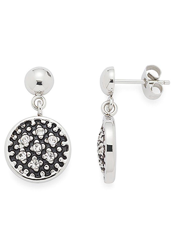Jewels by Leonardo Ohrschmuck: Paar Ohrstecker mit Glassteinen, »stelletta, 015697«