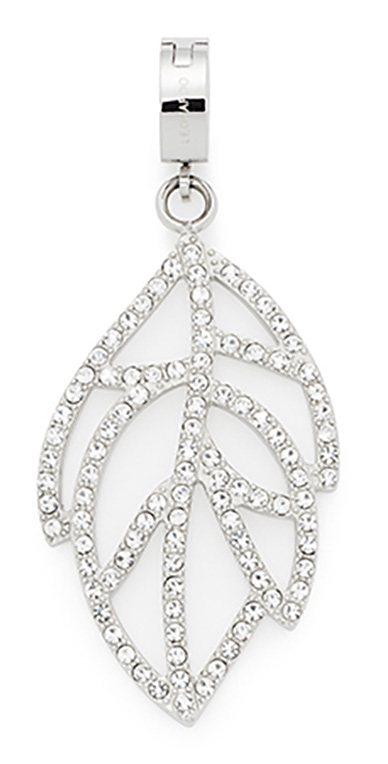 Jewels by Leonardo Charm-Einhänger: Anhänger mit Glassteinen, »darlin's fino, 015747« in silberfarbens