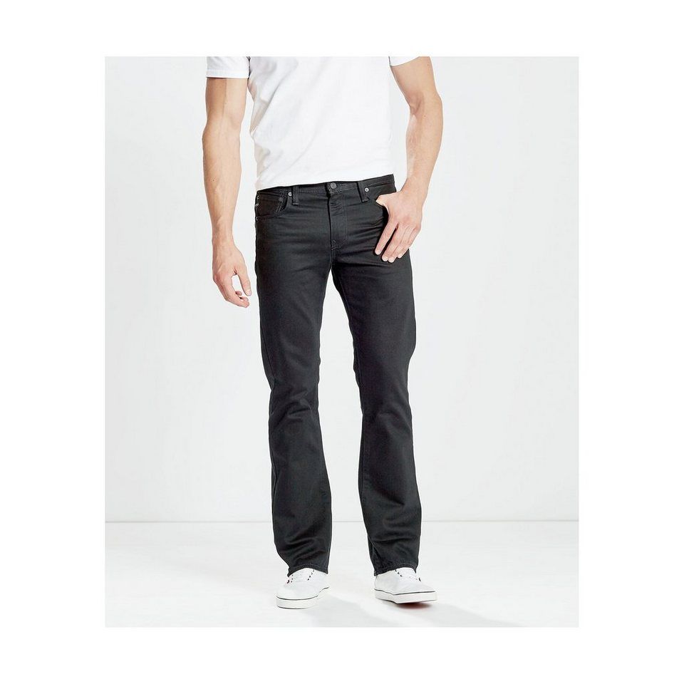 Levi's® Jeans »527 Low Boot Cut« in Original Black Rins