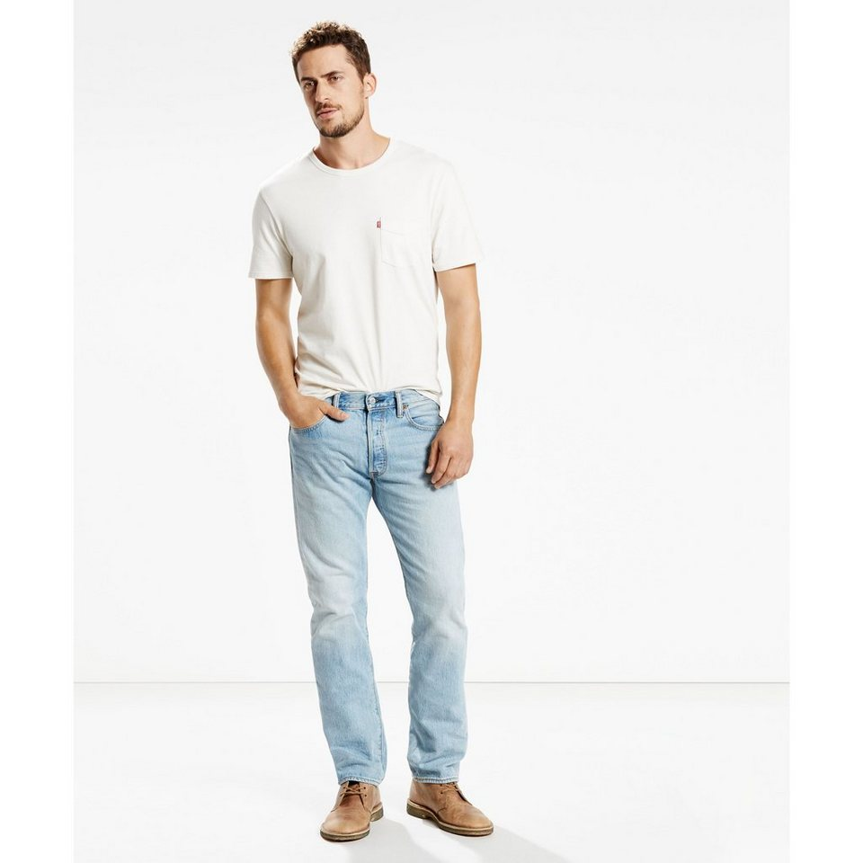 Levi's® Jeans »501® Original Fit Jeans« in Spring Light