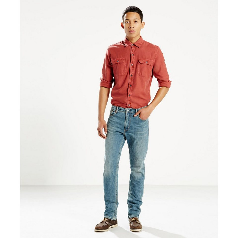 Levi's® Jeans »504 Regular Straight Jeans« in Junegrass