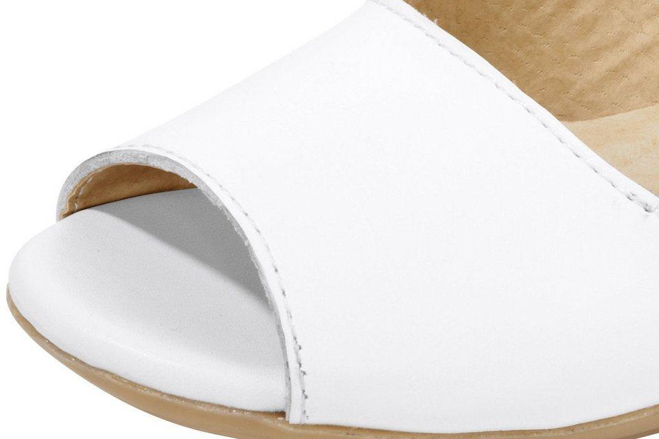 Sandalette in weiß