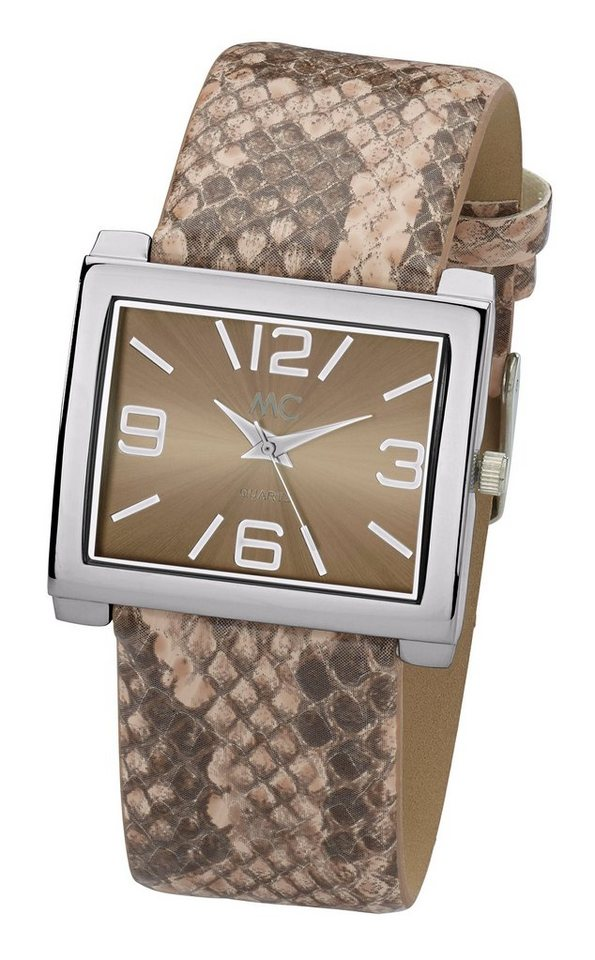 Armbanduhr in taupe