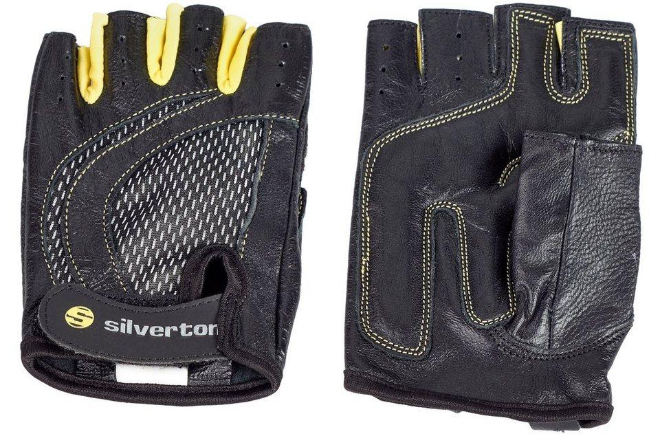Silverton® Trainingshandschuhe, »Lady« in schwarz-gelb