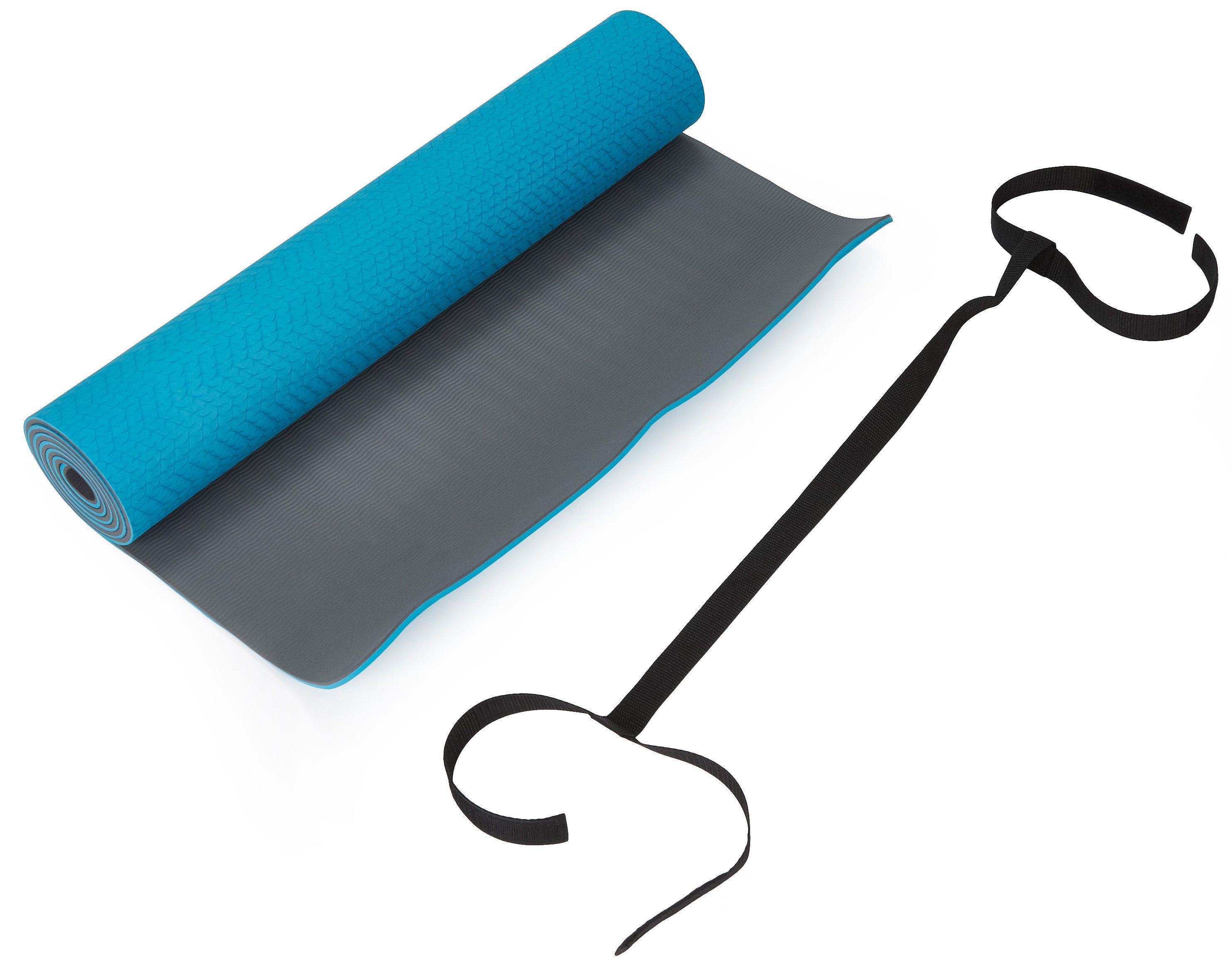 Schmidt Sports Deuser Yoga Matte mit Trageband
