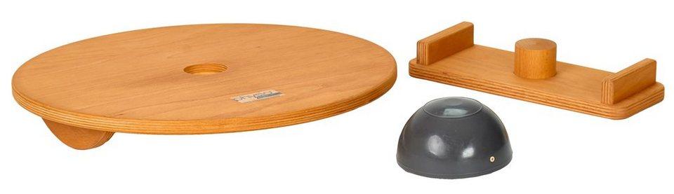 Schmidt Sports Deuser Balance Board, »Physio Board« in braun