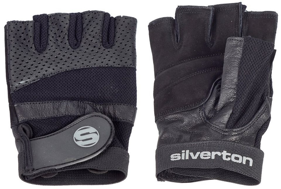 Silverton® Trainingshandschuhe, »Pro Plus« in schwarz