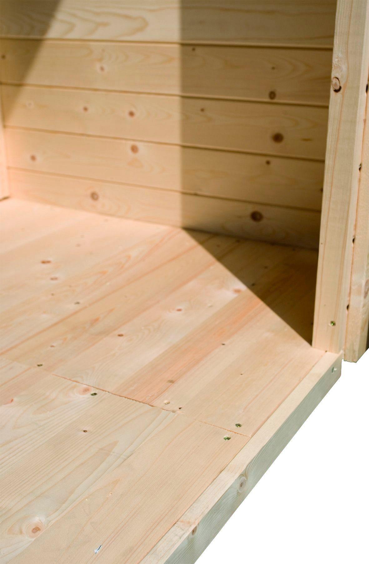Fußboden für Gartenhäuser, BxT: 181x120 cm
