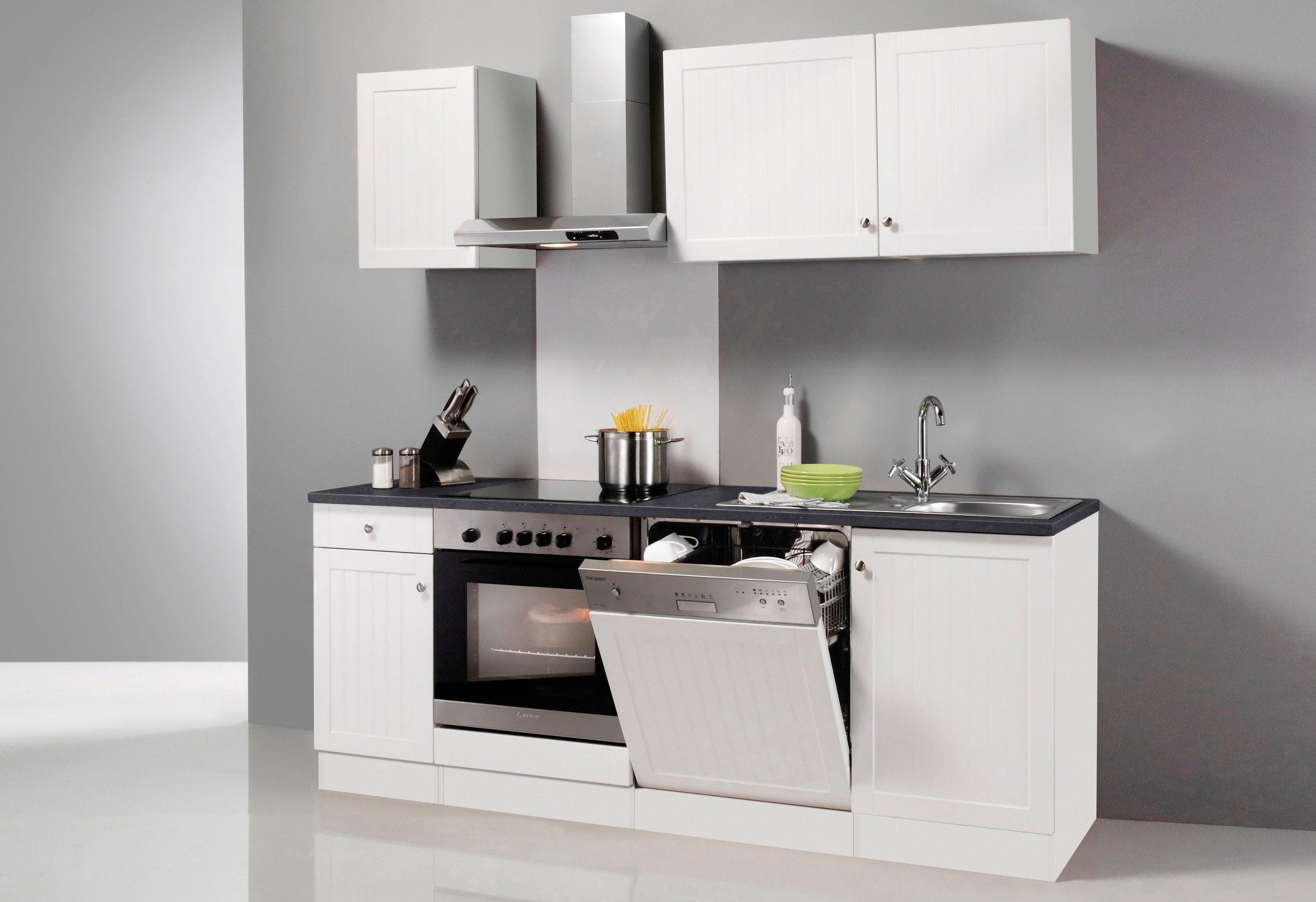 Optifit Küchenzeile ohne E-Geräte »Bornholm«, Breite 210 cm