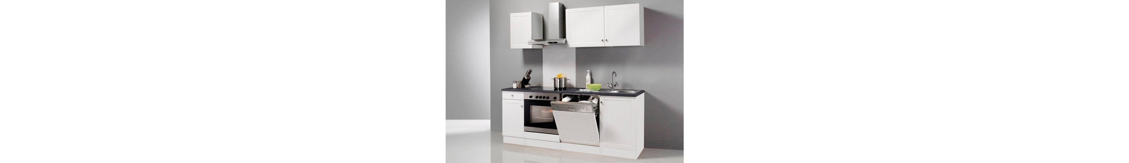 Küchenzeile ohne E-Geräte »Bornholm«, Breite 210 cm