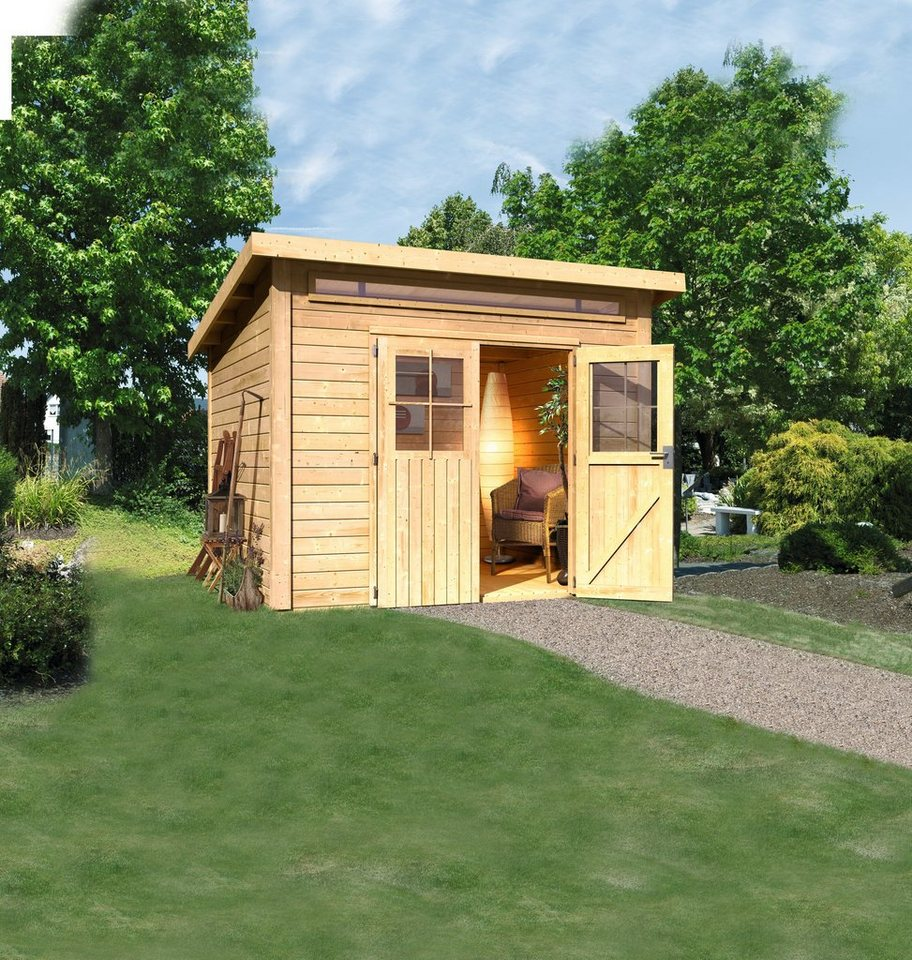 Gartenhaus »Kappeln«, BxT: 274x274 cm in natur