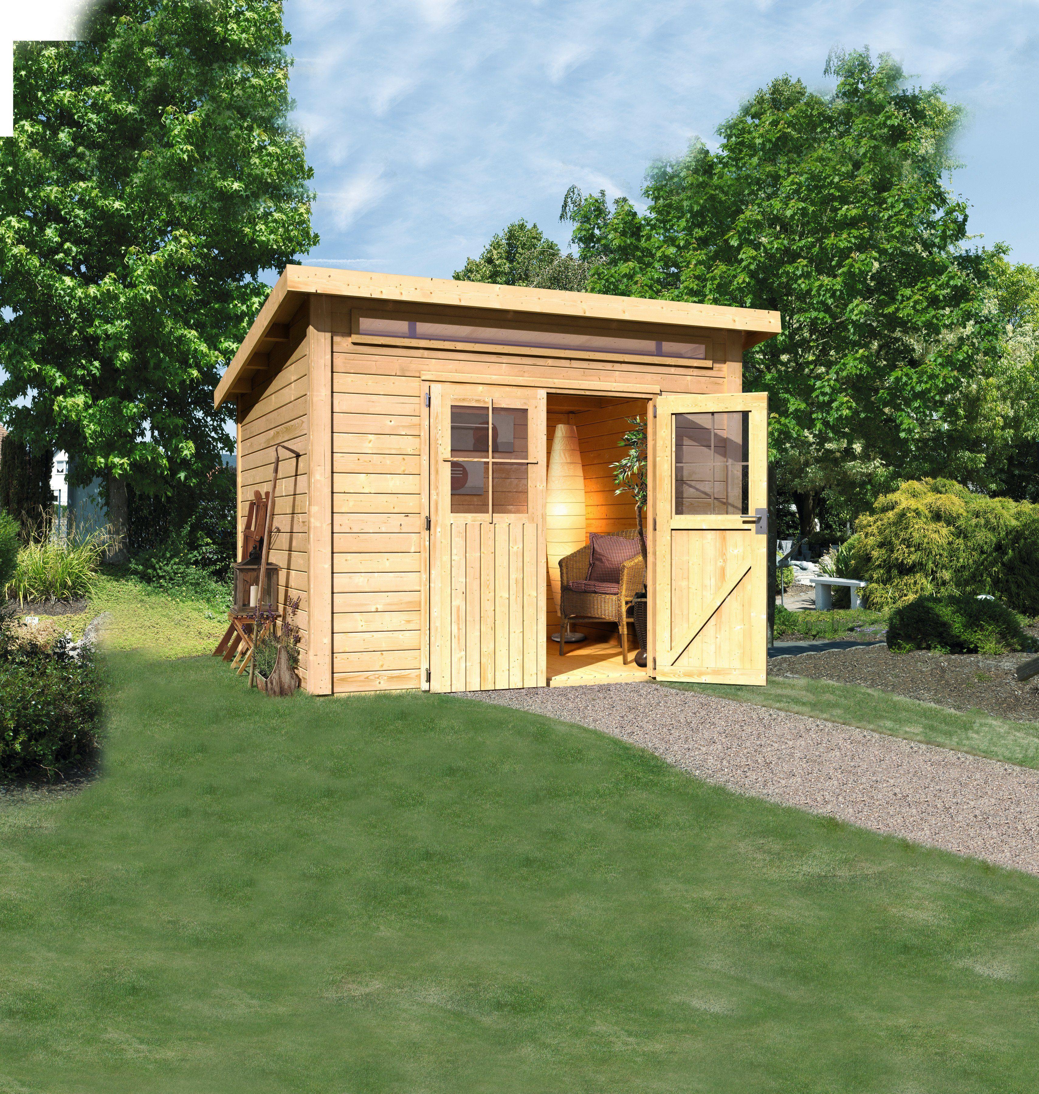 KARIBU Gartenhaus »Kappeln«, BxT: 274x274 cm