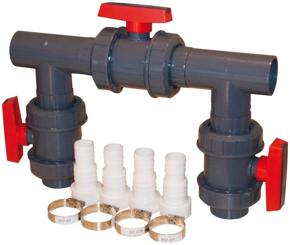 »Bypass Kit D50 für KWAD Wärmepumpen« in schwarz
