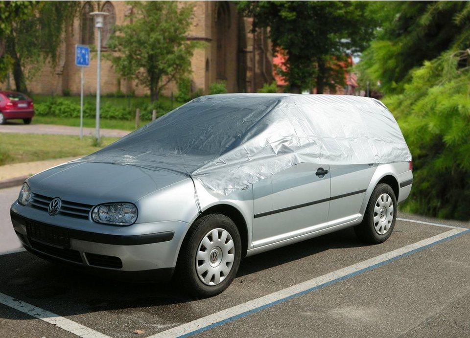 Autohalbgarage »Kombi« in grau