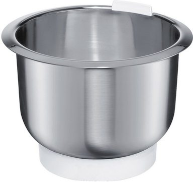 BOSCH Küchenmaschinenschüssel »MUZ4ER2«, Edelstahl, passend zu Bosch Küchenmaschinen MUM4…