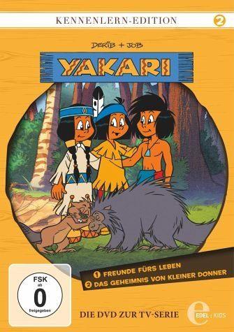DVD »Yakari - Kennenlern-Edition 2«