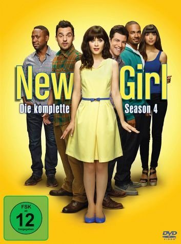 DVD »New Girl - Die komplette Season 4 (3 Discs)«