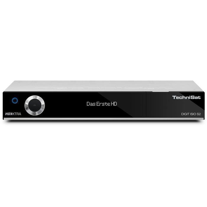 TechniSat HDTV-DigitalSat-Receiver mit Twin-Tuner »DIGIT ISIO S2« in silber
